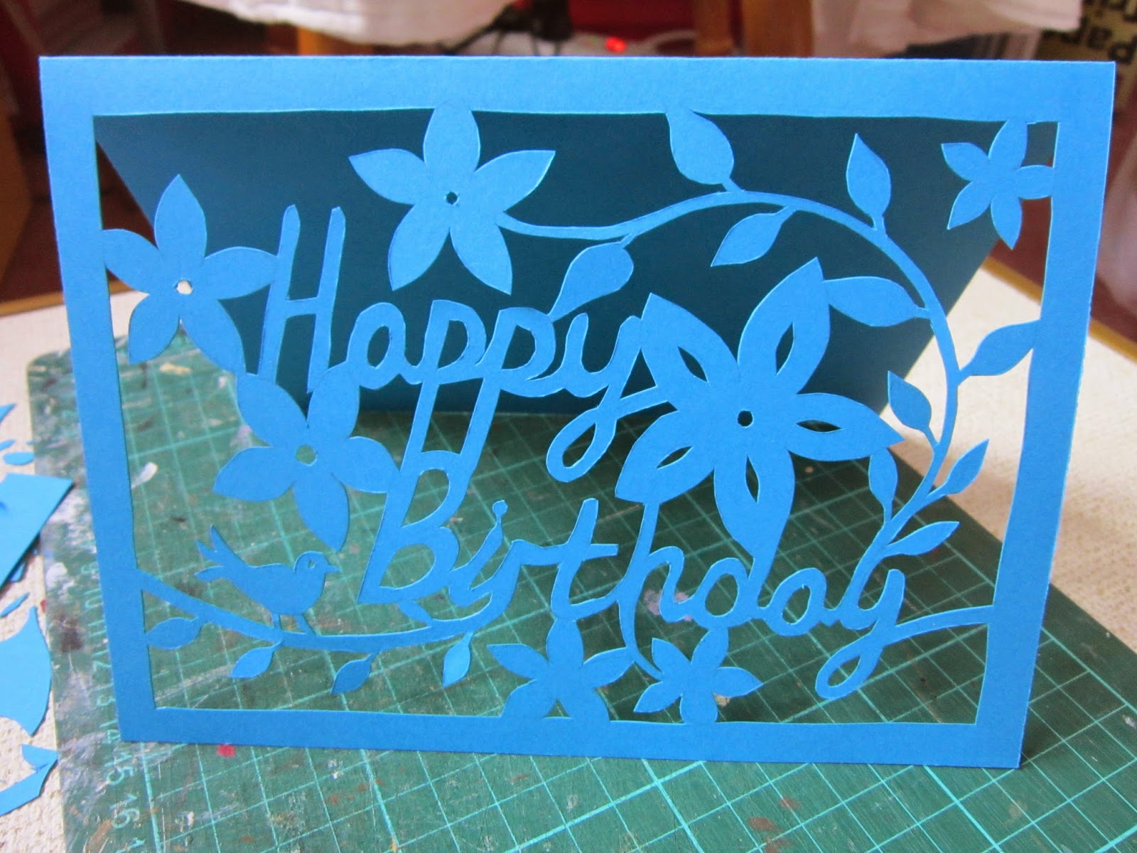 how to make a card stand out of paper