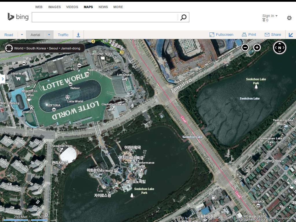 10 Tips Comparing map sites in Korea Naver Daum Google Bing – Bing Maps Satellite View