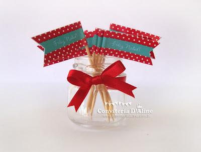 bandeirinhas natal personalizadas