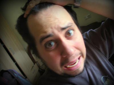 Queda de cabelo (foto)