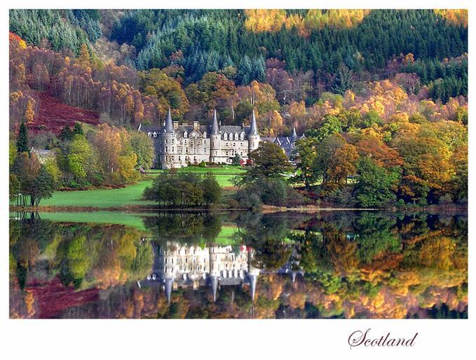 All World Visits Scotland Landscape