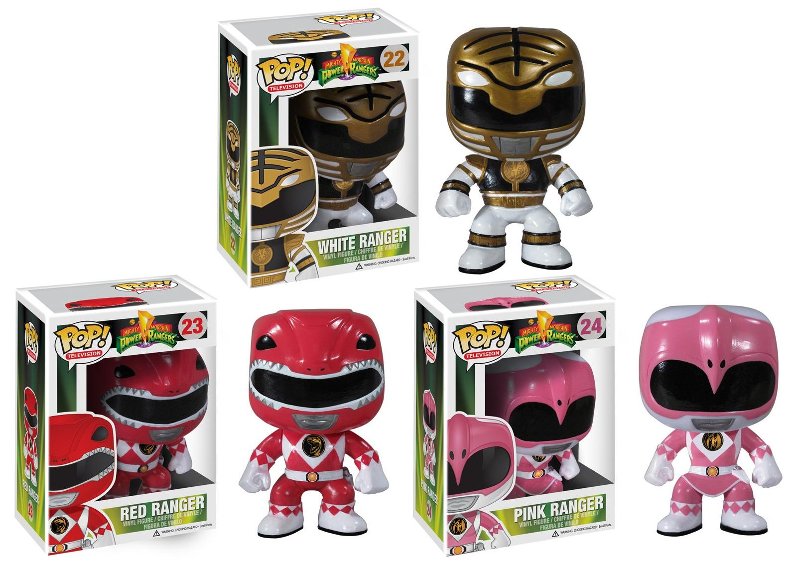 Mighty Morphin Power Rangers Pop! Television Series 1 by Funko - White