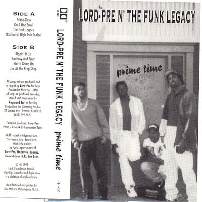 Lord-Pre N' The Funk Legacy – Prime Time (Casette Tape) (1993) (320 kbps)