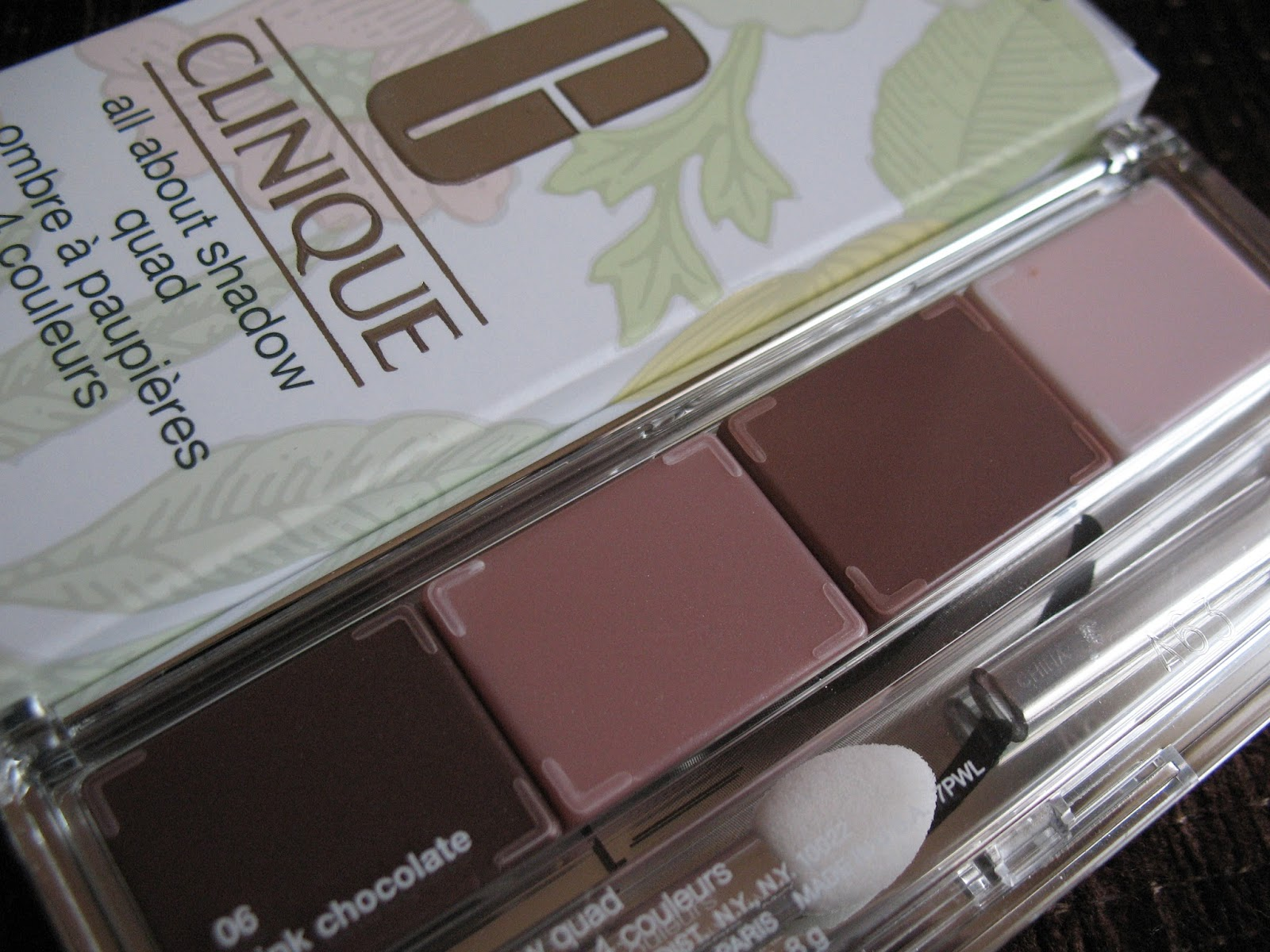 Clinique All About Shadow Quad 'Pink Chocolate' | review, photos - 01