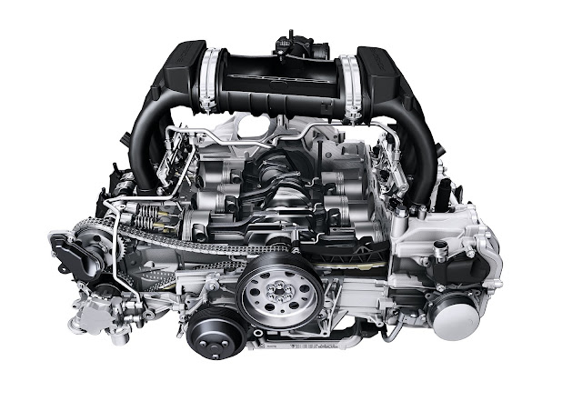 2.7- and 3.4-litre flat-six engine; Porsche Boxster/Cayman (981); 2012/2013