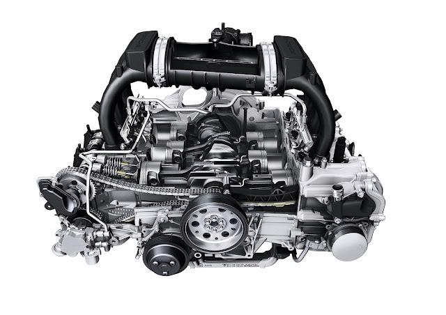 2.7- and 3.4-litre flat-six engine; Porsche Boxster/Cayman (981); 2012/2013
