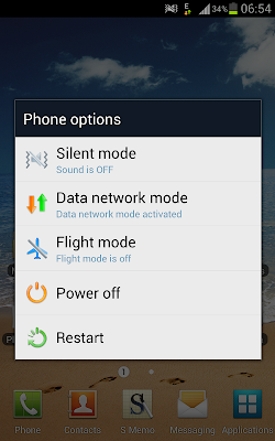 restart silent power off data ics 4.0.4 samsung galaxy note