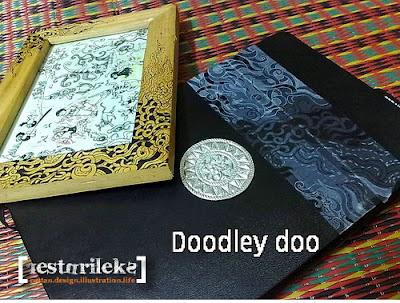 moleskin cover doodle