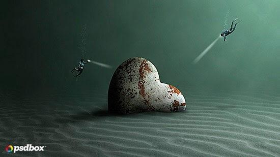 The Lost Treasure – Underwater Effect