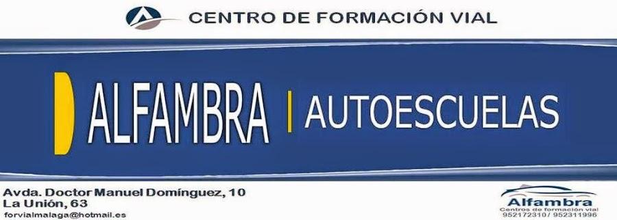 AUTOESCUELA ALFAMBRA GRUPO GUÍA