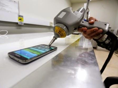 Inilah fasilitas uji Samsung dimana Galaxy S5 menjalani pengujian