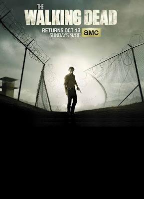 The Walking Dead season 4 promo art