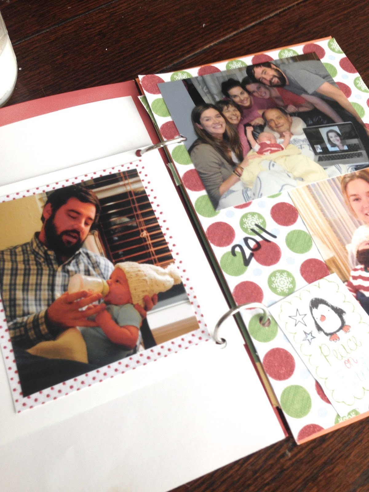 how to make a memory book with photos