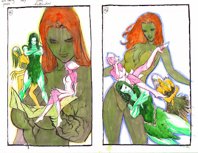 POISON IVY promo piece by Guillem March