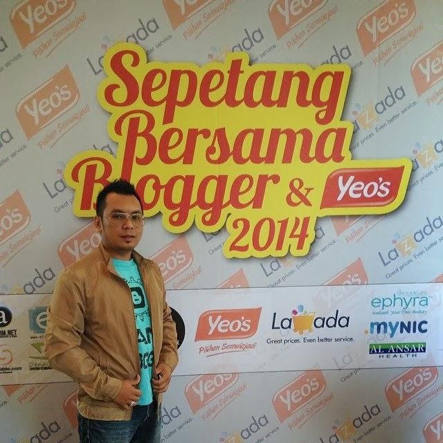 sepetang bersama blogger 2014, sepetang bersama blogger dan yeo's 2014, sbb2014, sbbyeos2014, #sbb2014, #sbbyeos2014, majlis sepetang bersama blogger 2014