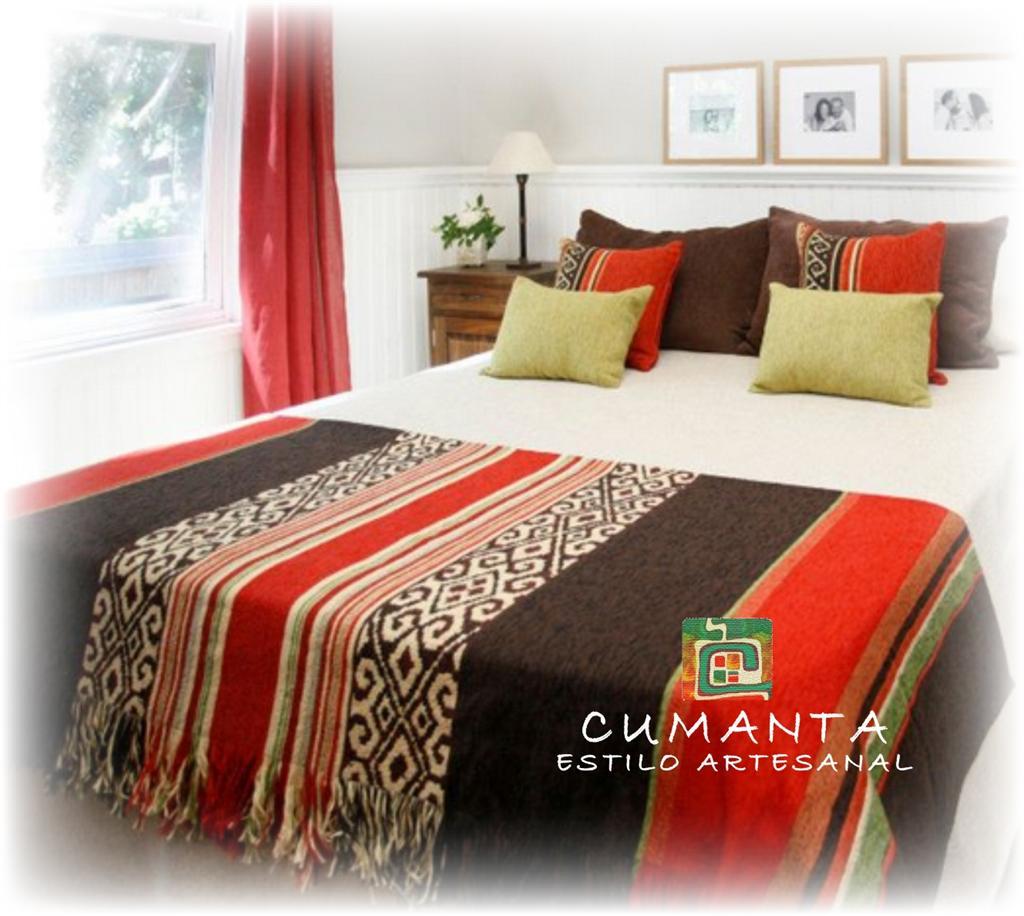 Cumanta estilo artesanal linea textil pies de cama - Pie de cama ...