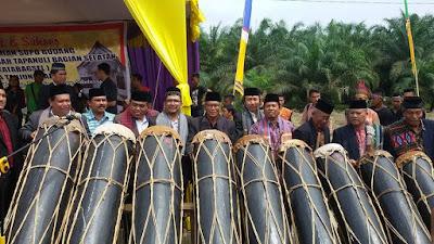 Kemenag Tanjungbalai Hadiri Peresmian Rumah Adat Tapanuli Selatan