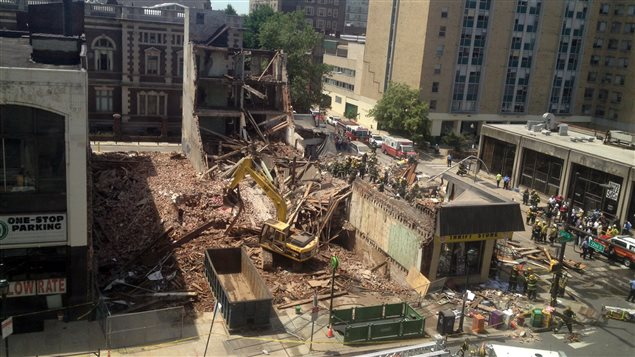 Photo: Philadelphia Building Collapse