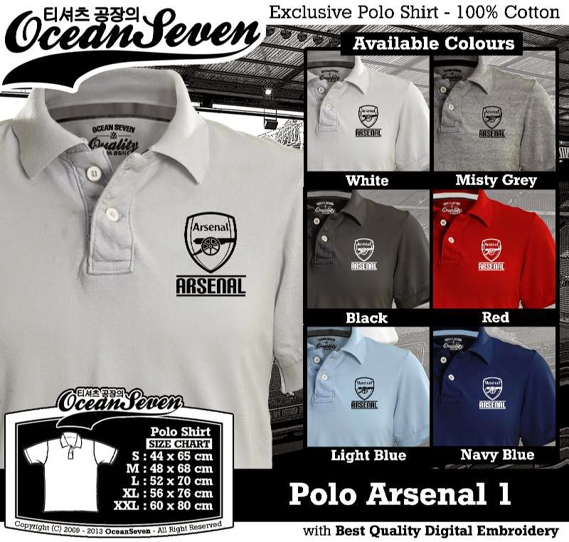 Kaos Polo Arsenal 1
