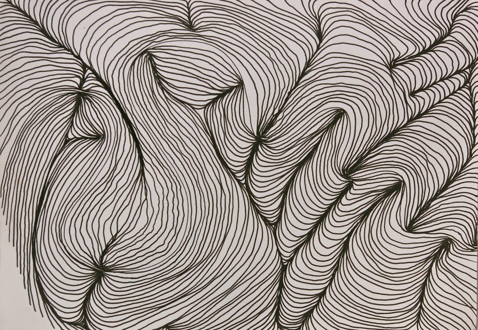 Curved Lines In Art : Aylish s oca learning log sketchbook daniel zeller and john franzen