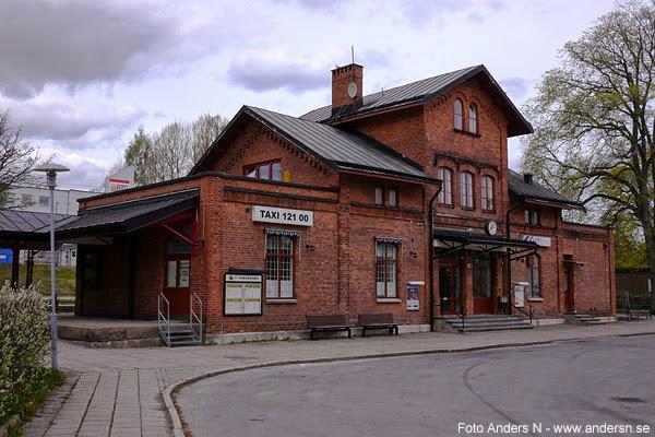 Säffle station, järnvägsstation