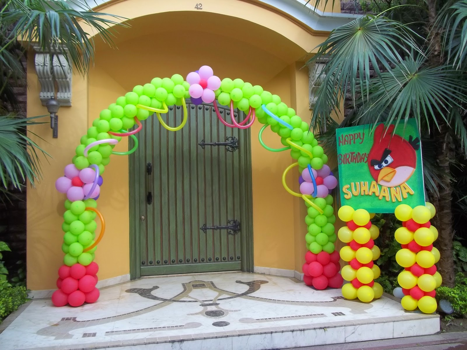 Balloon decoration in greater noida 9310860781 for Balloon decoration in noida
