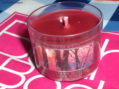 candle cranberry woods bbw