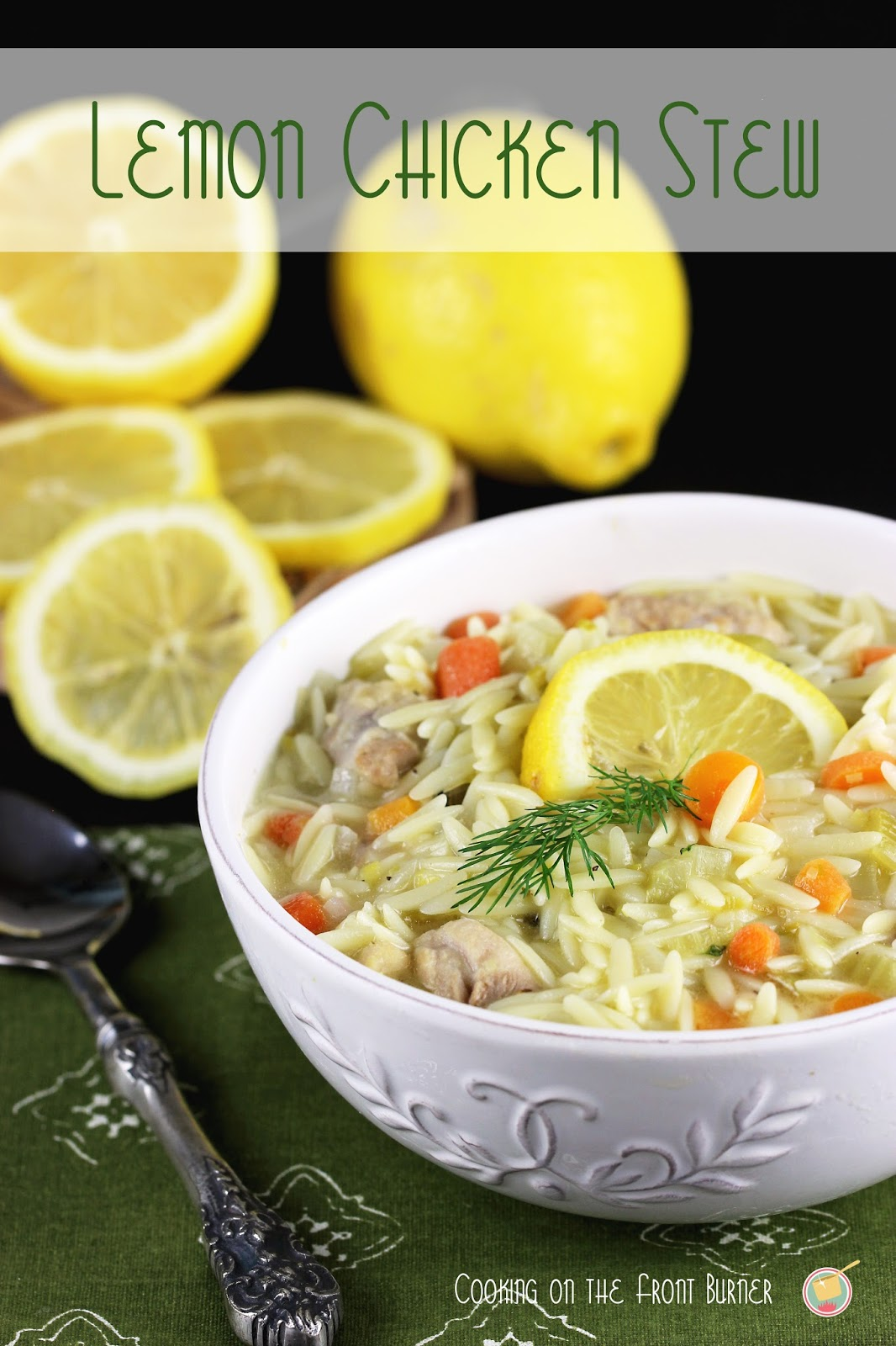 Lemon Chicken Stew | Cooking on the Front Burner #lemonchickenstew #dinner
