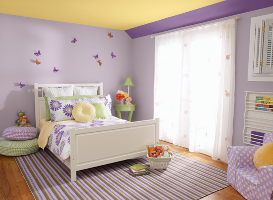 This Lavender Themed Room Allows You To Bring In A Multi Colored