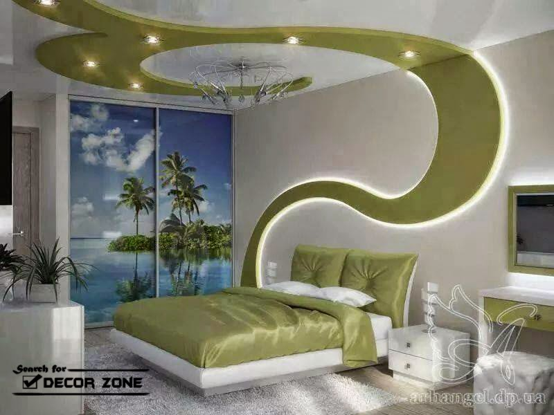 creative false ceiling design with drywall and integrated lighting systems - Home Ceilings Designs