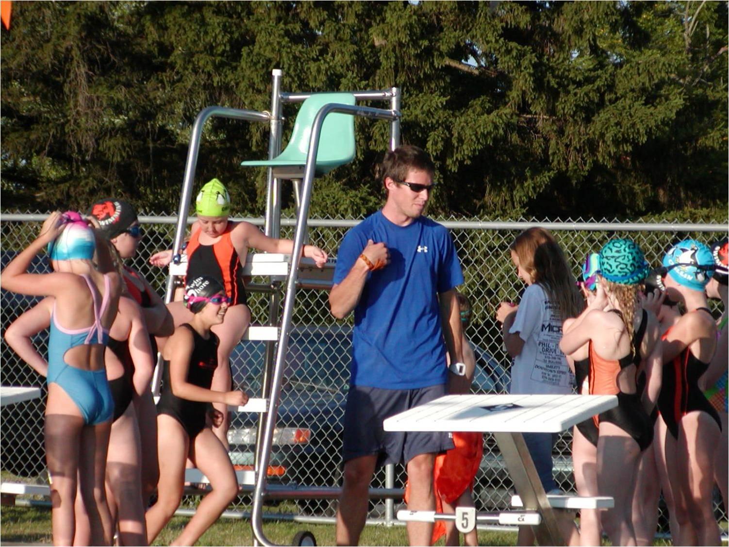 Jersey Shore Pa Swim Black And Orange Meet Time Trials