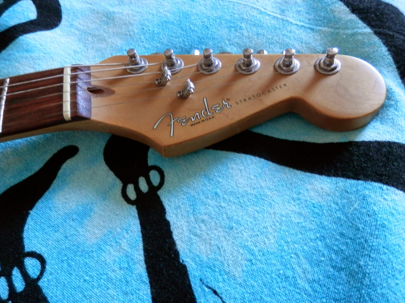 Fender Stratocaster USA - American Standard - 1996 - Sonic Blue ...