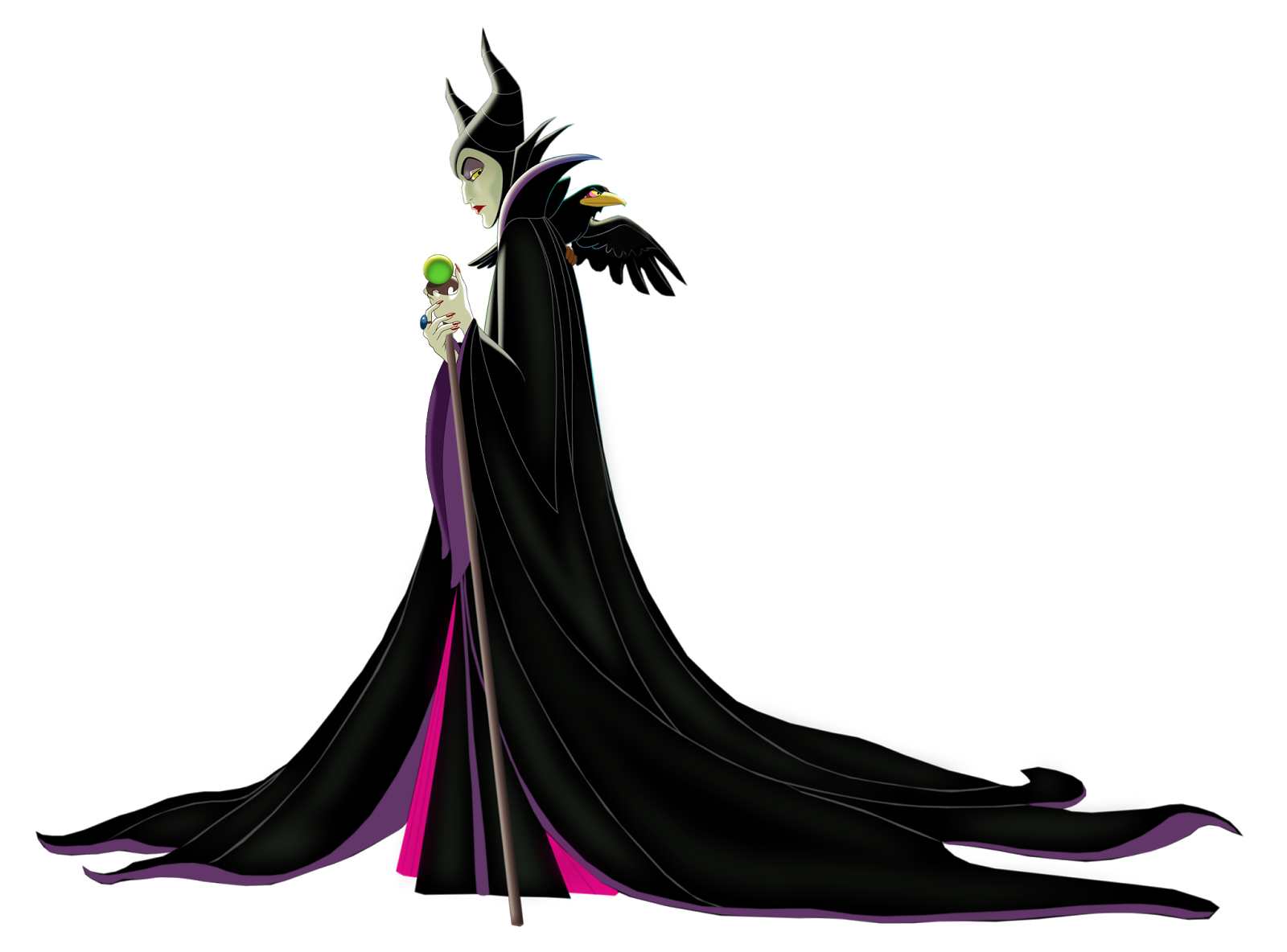 a very merry unblog maleficent clipart