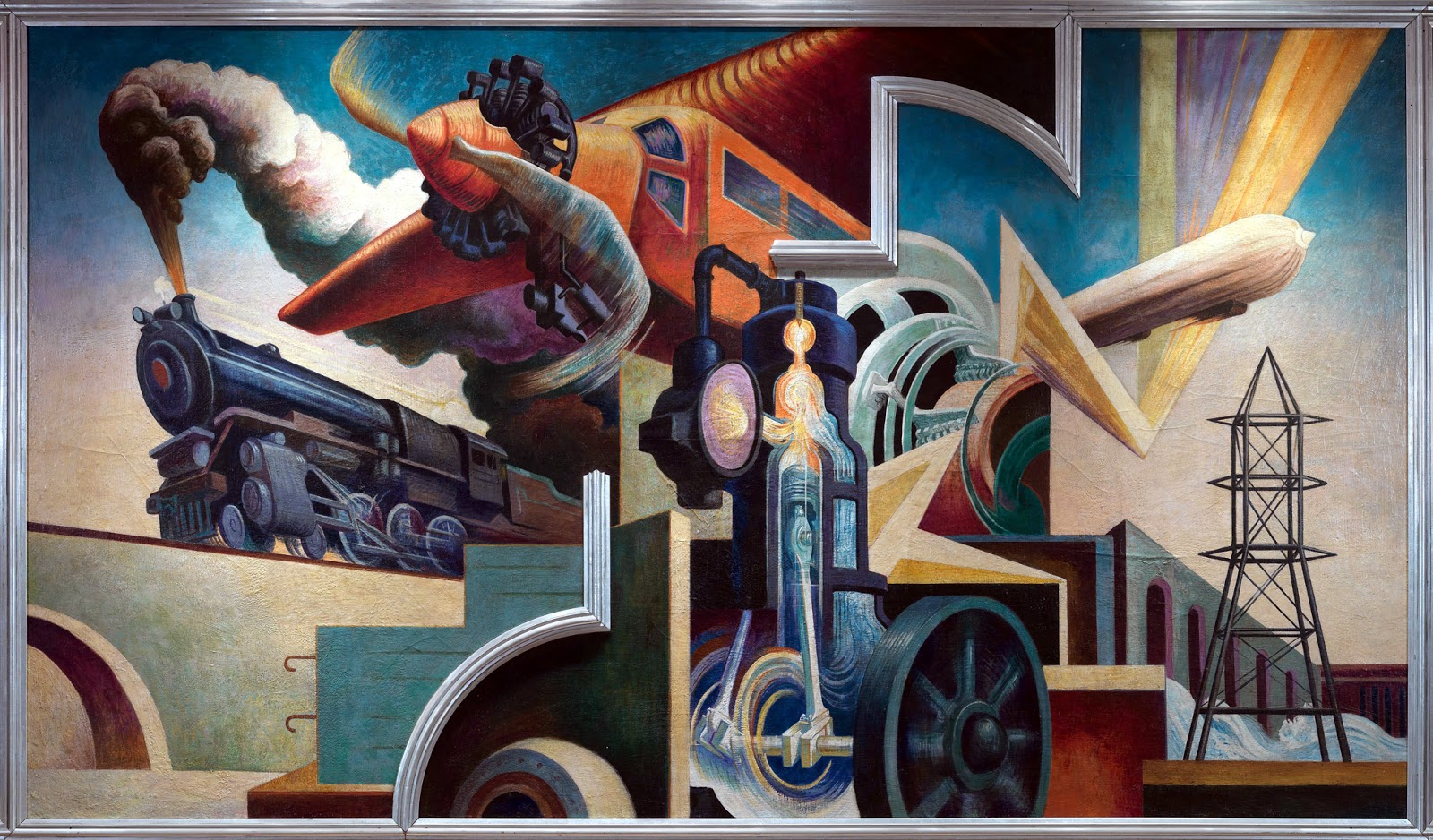 Just a car guy america today 1931 painter and muralist for America today mural