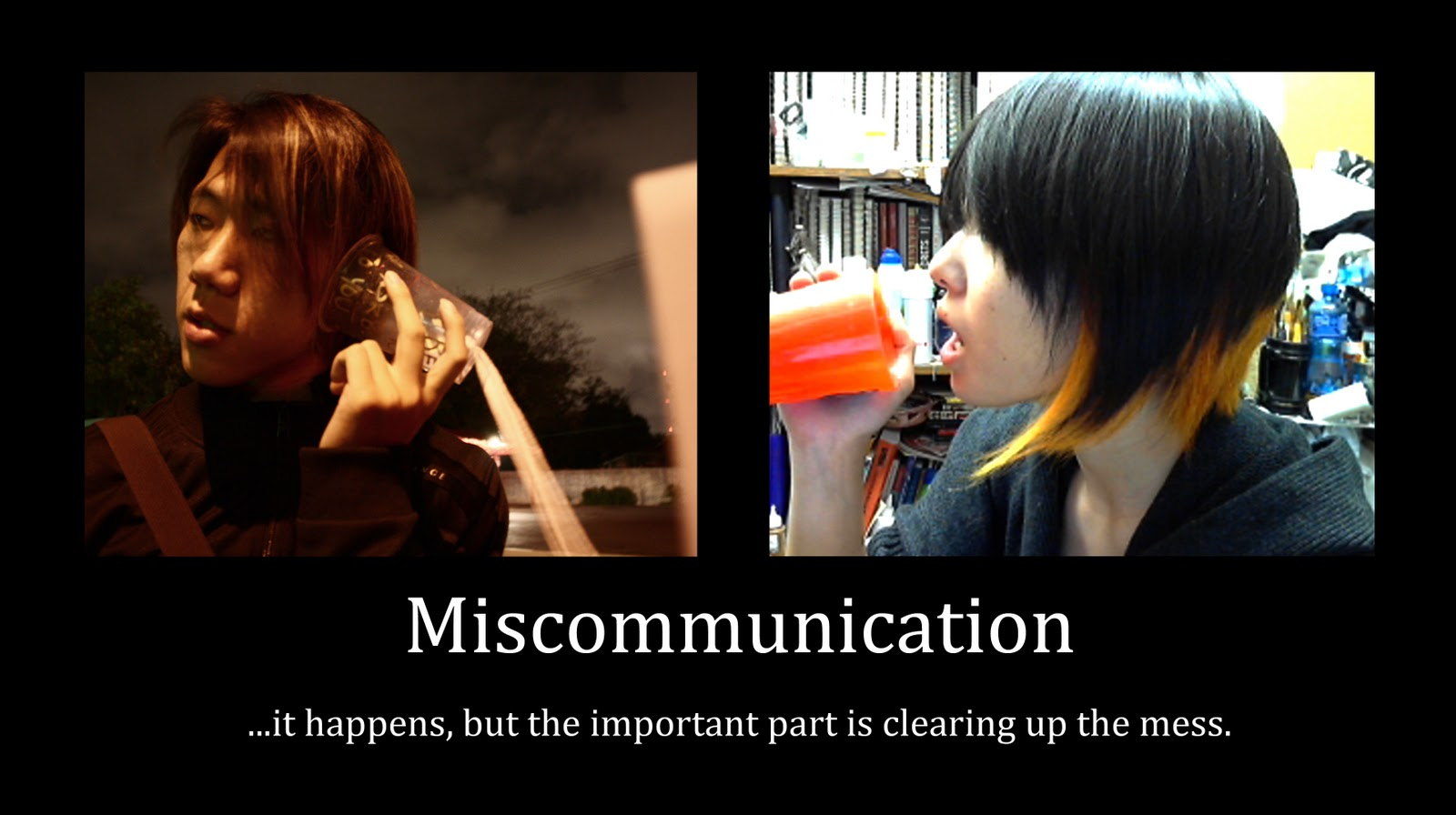 miscommunication in relationships The proper use of communication skills that can help you avoid conflict in relationships in the future.