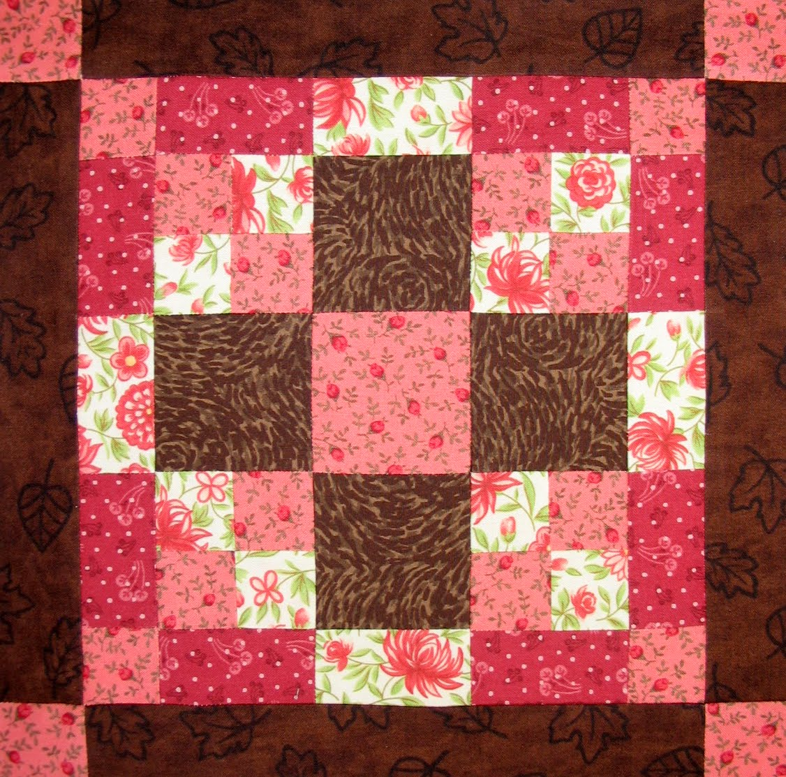 Free Quilt Patterns And Blocks : Starwood Quilter: Chocolate Lover Quilt Block