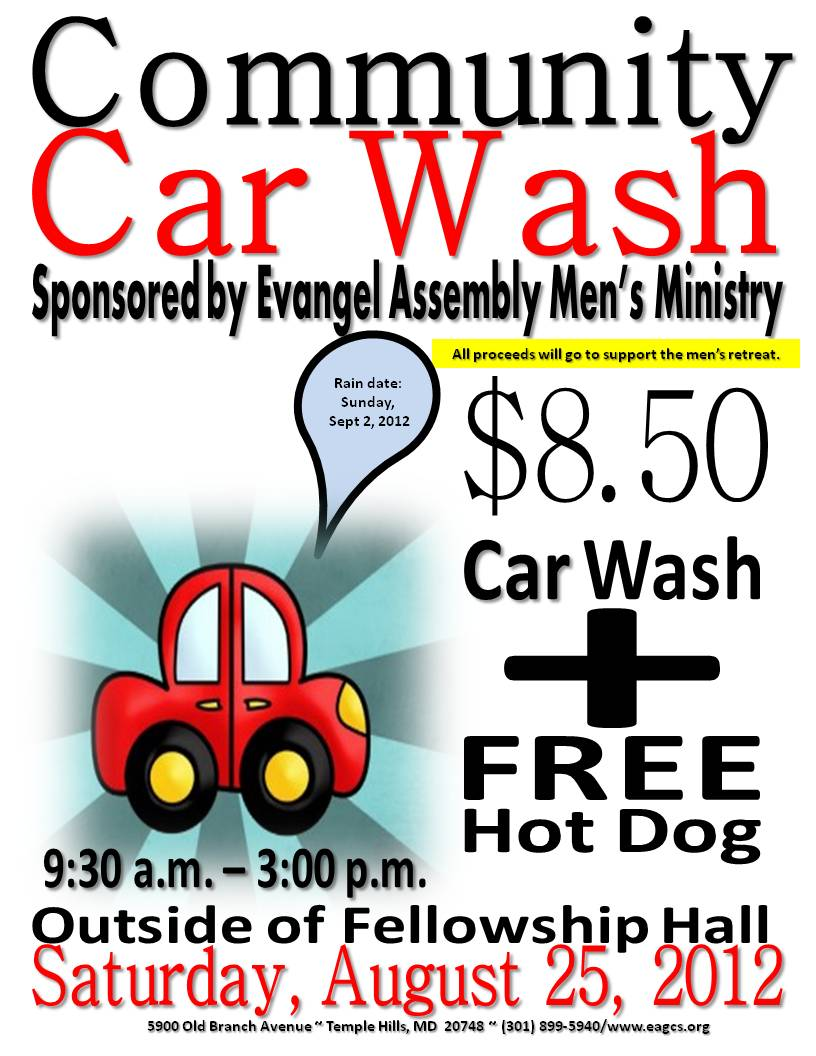 car wash fundraiser template car wash and fundraiser oncar wash fundraiser template