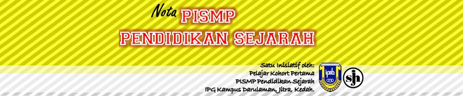 Nota Sejarah PPISMP