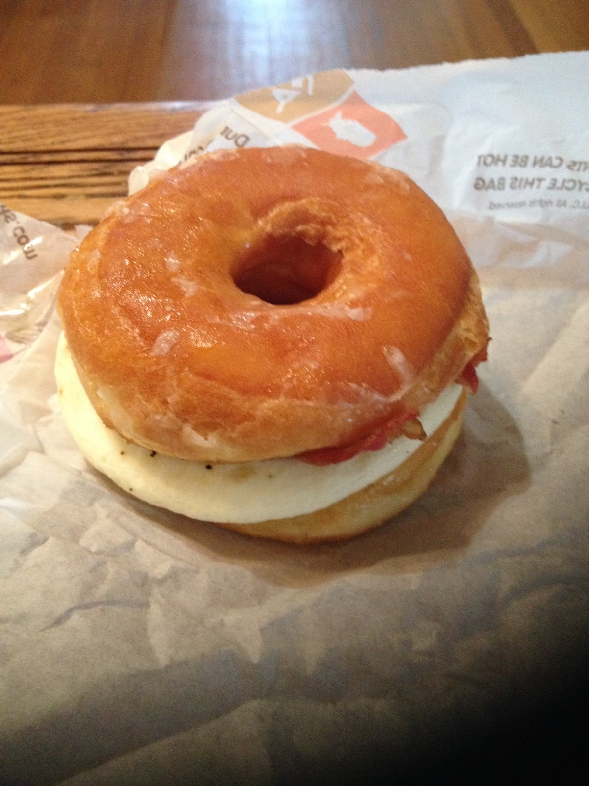Bacon Egg And Cheese Dunkin Donuts Donut Bacon Egg Cheese