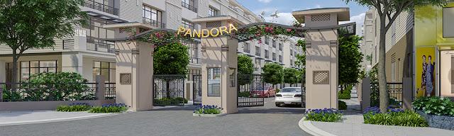phối cảnh liền kề pandora