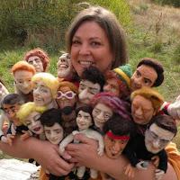 Знаменитые музыканты из войлока от Kay Petal