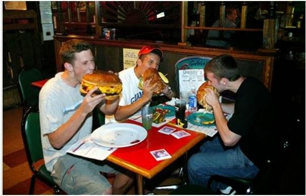 ilginç hamburgerler