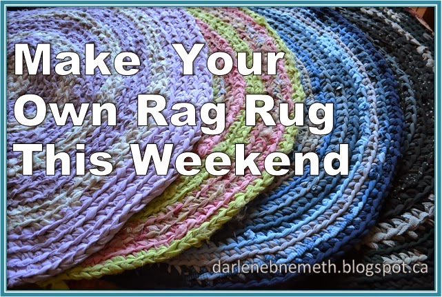 Let It Shine Make Your Own Rag Rug This Weekend