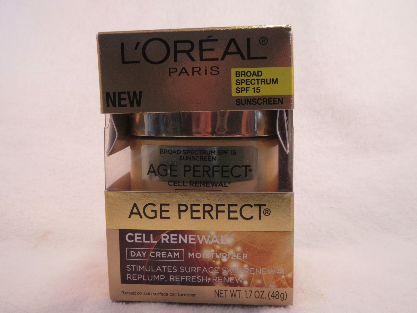 l 39 oreal age perfect cell renewal day cream review neon. Black Bedroom Furniture Sets. Home Design Ideas