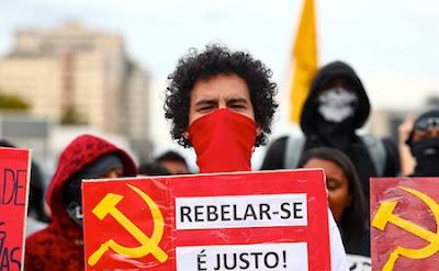 Agitadores comunistas de entidades ligadas ao PT promovem novos atos de vandalismo em São Paulo, Rio e outras cidades do Brasil