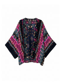 Busana kimono wanita modis trend padupadan fashion modern saat ini
