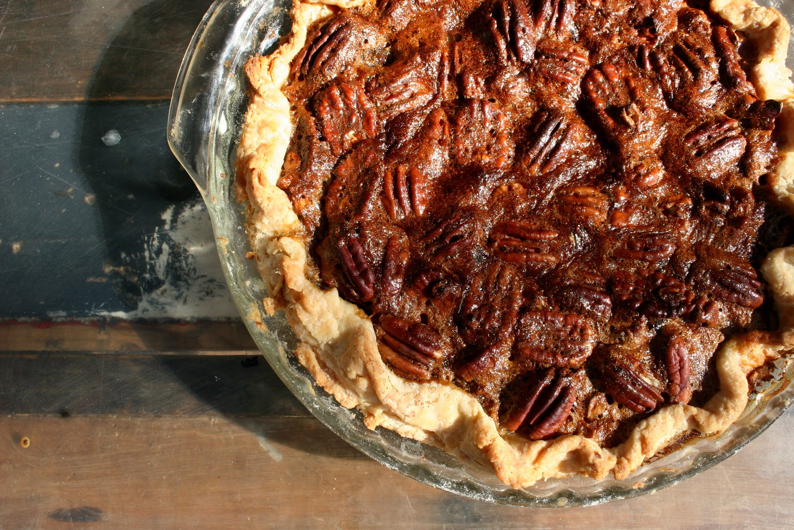 Nothing in the House: Bittersweet Chocolate Pecan Pie at an Elsewhere ...