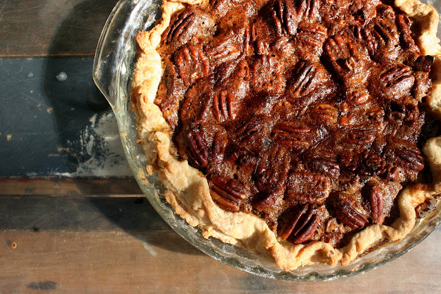 Bittersweet Chocolate Pecan Pie