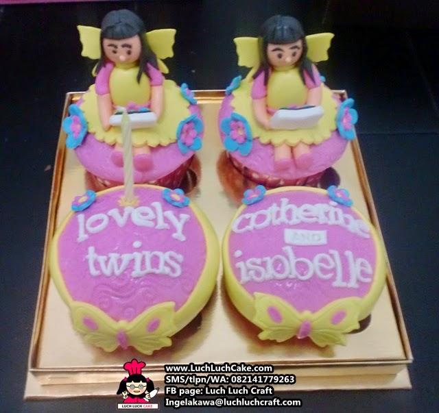 Cupcake Cute Untuk Si Kembar