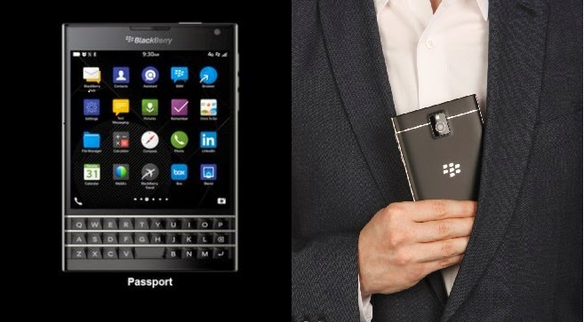 Black Blackberry Passport